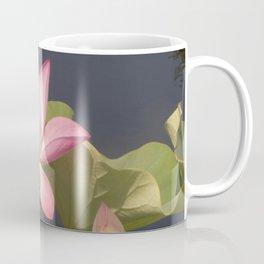 Pink Lotus by Teresa Thompson Coffee Mug