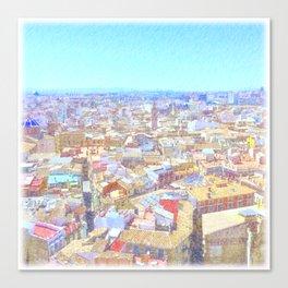 Valencian Dream Canvas Print