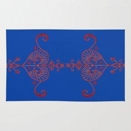 Voodoo Symbol Erzulie Rug