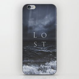Lost in the sea iPhone Skin