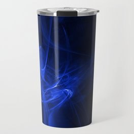 Blue swirl Travel Mug