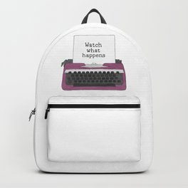 Watch What Happens Backpack
