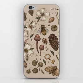 Nature Walks (Light Background) iPhone Skin