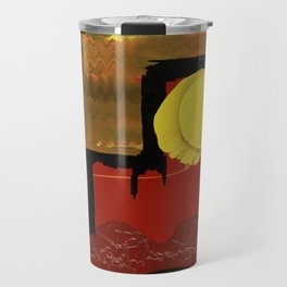 Terraces on the Red Planet Travel Mug