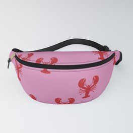 Lobster Pink Red Sea Food Fanny Pack