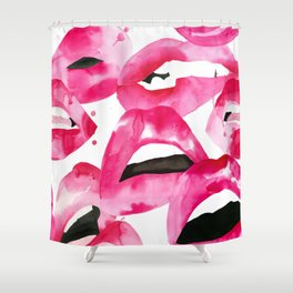 Lip Service Shower Curtain