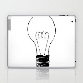 Lightbulb Sketch Laptop & iPad Skin