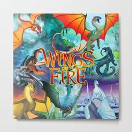 wings of fire Metal Print
