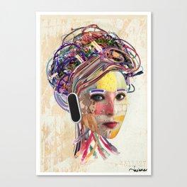 Desconectada Canvas Print