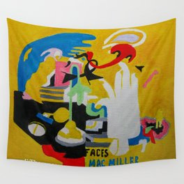 FACES Mac Miller Wall Tapestry