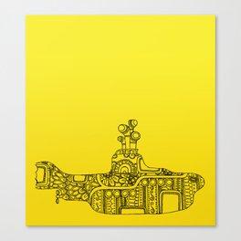 Yellow Submarine Solo Canvas Print