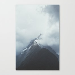 Milford Sound (Color) Canvas Print