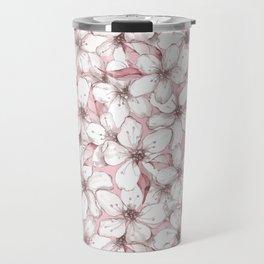 Chery blossom Travel Mug