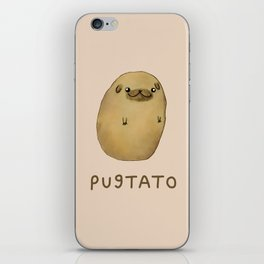 Pugtato iPhone Skin
