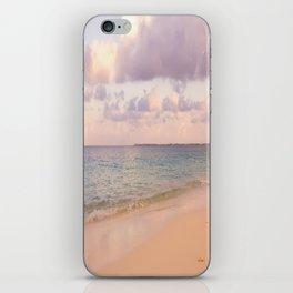 Dreamy Beach View iPhone Skin