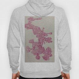 Pink Pattern Hoody