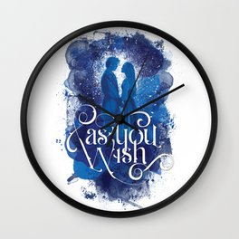 As You Wish Wall Clock