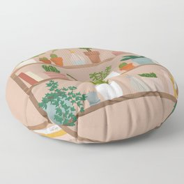Plant Mama Shelfie Floor Pillow