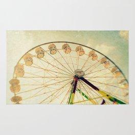 funtastic wheel Rug