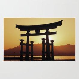 Miyajima Torii Gate Rug