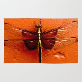Dragonfly on the Wall Rug