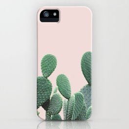 Cactus on Blush iPhone Case