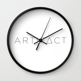 ARTIFACT LOGO Wall Clock