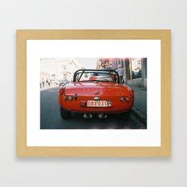 Triumph Spitfire Framed Art Print