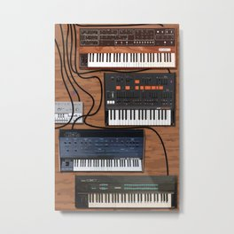 Musician's Tabletop Metal Print