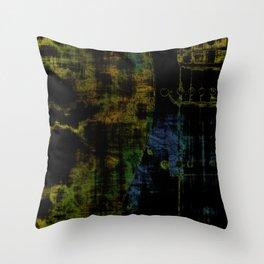 Deluminated Throw Pillow