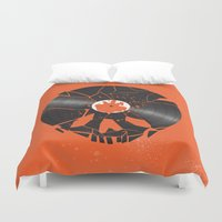 shaun of the dead Duvet Covers featuring Shaun of the dead by Wharton