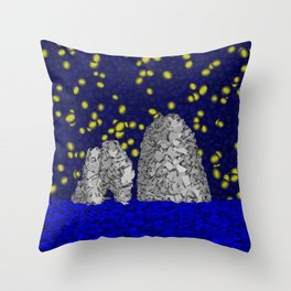 Starry Capri Throw Pillow