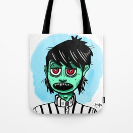 Zombie ready for job interview Tote Bag