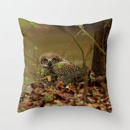 Spring Shower Throw Pillow