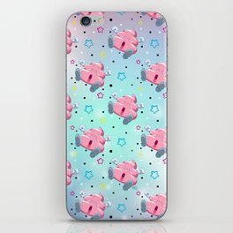 Pink Poo iPhone Skin