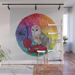 Lakshmi's Vahana ( Bird Whisperer Project Owl ) Wall Mural