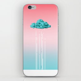 Concrete Cloud iPhone Skin
