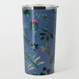 Inky Leaves Travel Mug