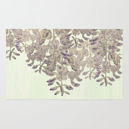 Wisteria - a thing of beauty is a joy forever Rug