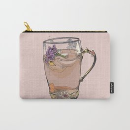 Cute iced tea, summer, drink, drinks, illustration, cocktail, cocktails, beverage Carry-All Pouch