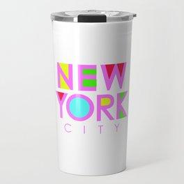 New York City Retro Travel Mug