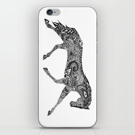 Paisley Pace iPhone Skin