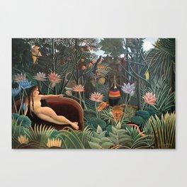 Henri Rousseau - The Dream Canvas Print