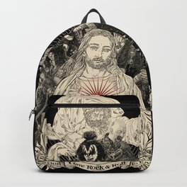 God Gave Rock & Roll to You Backpack