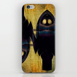 The Double Nature Of Owls iPhone Skin