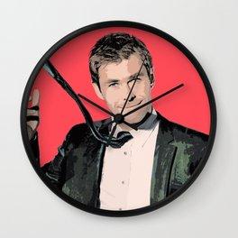 Chris Hemsworth Wall Clock