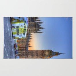 Westminster Bridge Early Evening Rug