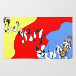 Sliding in to Third: Tim Koss          by Kay Lipton Rug