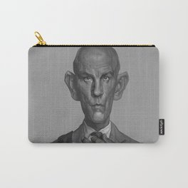 John Malkovich Caricature Carry-All Pouch