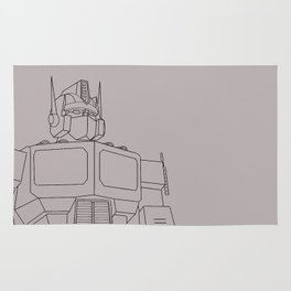 Optimus G1 clay Rug
